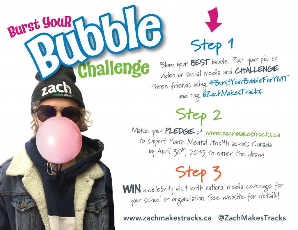 Burst Your Bubble Challenge